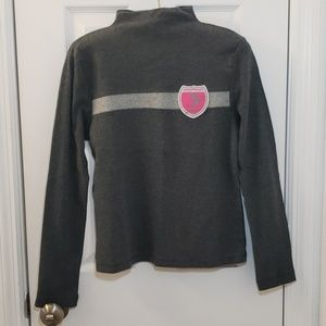 Vintage Victoria's Secret Turtleneck Grey Skiing